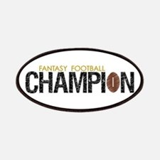 Fantasy Football League Champ Patches