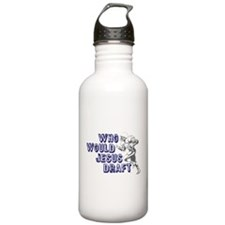 Fantasy Football Jesus Draft Water Bottle