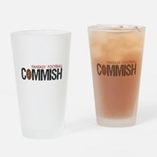 Fantasy Football Commish Drinking Glass