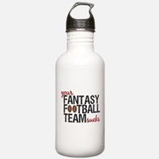 Funny Fantasy Football Water Bottle