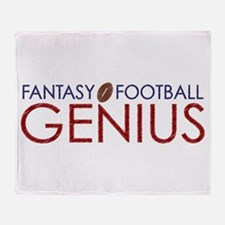 Fantasy Football Genius Throw Blanket