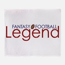 Fantasy Football Legend Throw Blanket