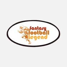 Retro Fantasy Football Legend Patches