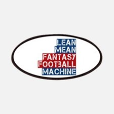 Fantasy Football Machine Patches