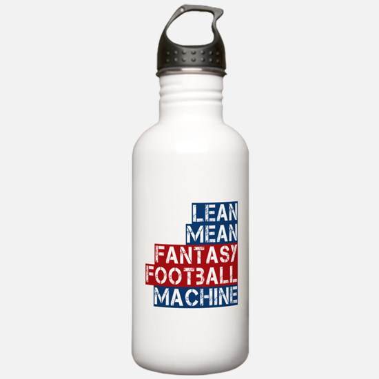 Fantasy Football Machine Water Bottle