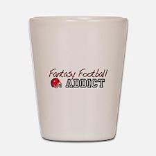 Fantasy Football Addict Shot Glass