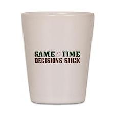 Gametime Decision (FFL) Shot Glass
