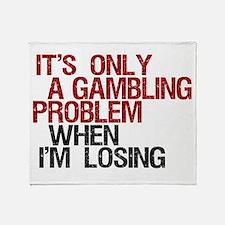 Gambling Problem Throw Blanket