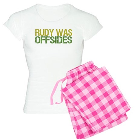 Rudy Was Offsides Women's Light Pajamas