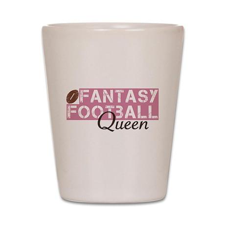 Fantasy Football Queen Shot Glass