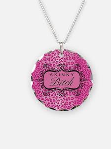 Pink Skinny Bitch Necklace