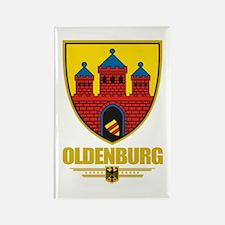 Oldenburg Rectangle Magnet