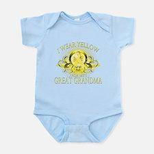 I Wear Yellow for my Great Gr Infant Bodysuit