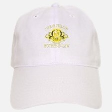 I Wear Yellow for my Mother I Baseball Baseball Cap