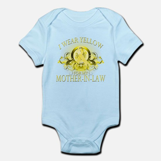 I Wear Yellow for my Mother I Infant Bodysuit
