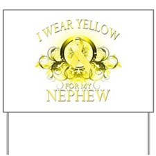 I Wear Yellow for my Nephew ( Yard Sign