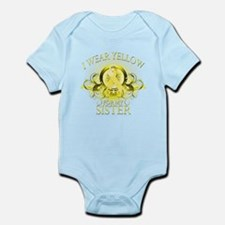 I Wear Yellow for my Sister ( Infant Bodysuit