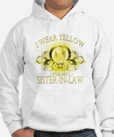 I Wear Yellow for my Sister I Hoodie