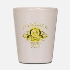 I Wear Yellow for my Son (flo Shot Glass