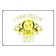 I Wear Yellow for my Son (flo Banner