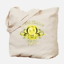 I Wear Yellow for my Son (flo Tote Bag