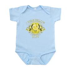 I Wear Yellow for my Son (flo Infant Bodysuit