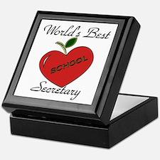 Unique Secretary Keepsake Box