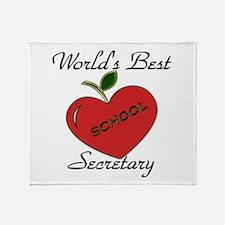 Best kindergarten teacher Throw Blanket