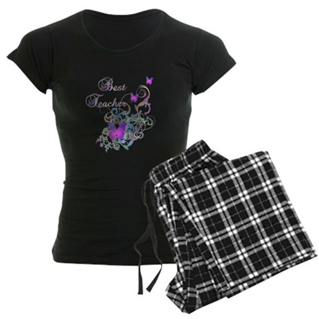 Best Teacher Women's Dark Pajamas