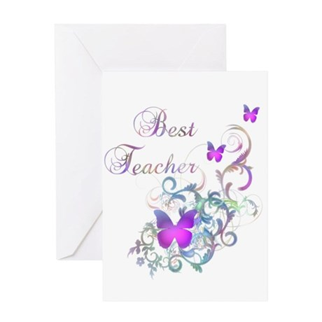 Best Teacher Greeting Card