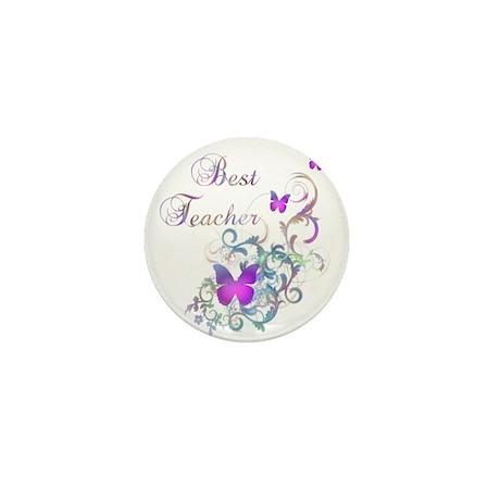 Best Teacher Mini Button (10 pack)