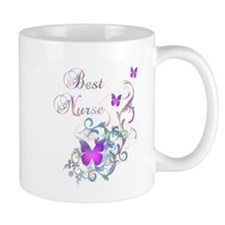 Cute Nurse butterfly Mug