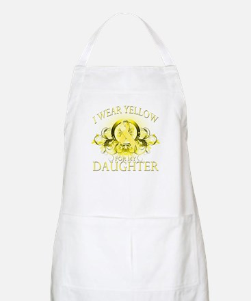 I Wear Yellow for my Daughter Apron