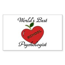Funny School psychologist Decal
