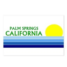 Funny Palm springs Postcards (Package of 8)