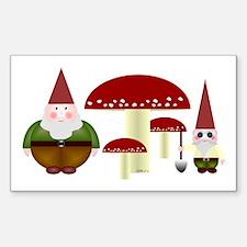 Gnomeses Sticker (Rectangle)