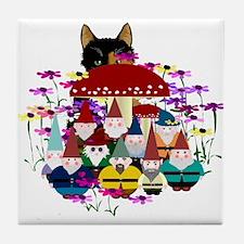 Gnomeses Tile Coaster