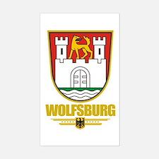 Wolfsburg Sticker (Rectangle)