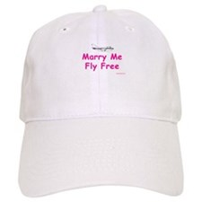 Marry Me, Fly Free (Pink) Baseball Cap