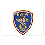 Denton County Sheriff Sticker (Rectangle 10 pk)