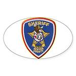 Denton County Sheriff Sticker (Oval 50 pk)