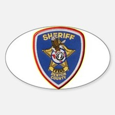 Denton County Sheriff Decal