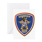 Denton County Sheriff Greeting Card