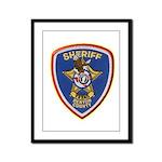 Denton County Sheriff Framed Panel Print