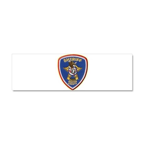 Denton County Sheriff Car Magnet 10 x 3