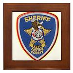 Denton County Sheriff Framed Tile