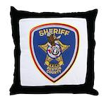 Denton County Sheriff Throw Pillow