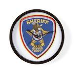 Denton County Sheriff Wall Clock