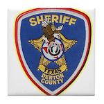Denton County Sheriff Tile Coaster