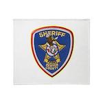 Denton County Sheriff Throw Blanket